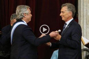 Video: Así fue el juramento de Alberto Fernández y el traspaso de mando -  -