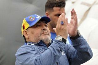 Maradona celebró la asunción de Alberto Fernández