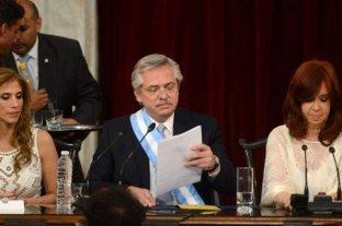 """Fernández propuso """"seriedad"""" y """"responsabilidad"""" para solucionar el problema de la deuda"""