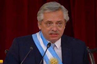 Alberto Fernández adelantó sus primeras medidas de gobierno