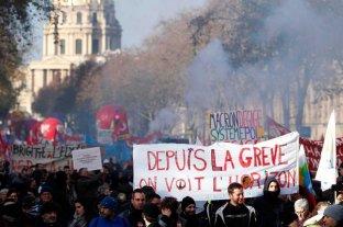 Francia paralizada por el anuncio de la reforma previsional