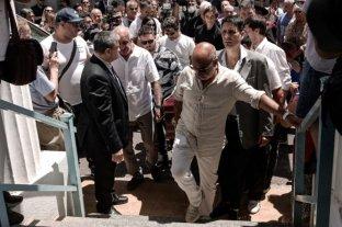 Despidieron los restos de Santiago Bal en el cementerio de la Chacarita