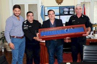 Los directores generales de la Policía de Santa Fe recibieron sus sables