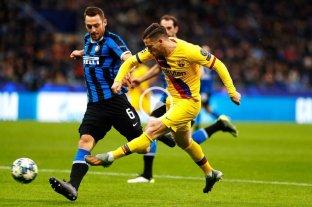 Inter perdió con un Barcelona alternativo y quedó eliminado de la Champions League