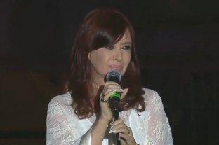"""Cristina Kirchner: """"Fueron cuatro años muy duros"""" -  -"""