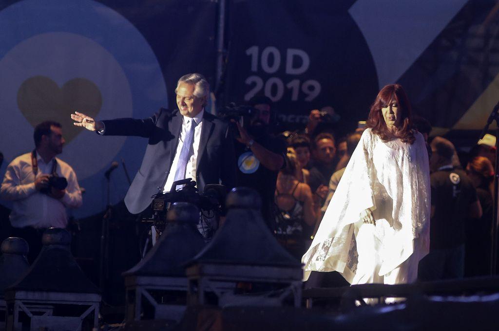 """Alberto Fernández: """"Nunca más vamos a dividirnos"""" -  -"""