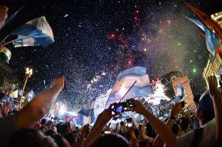 Una multitudinaria fiesta popular celebró en Plaza de Mayo la asunción de Alberto Fernández