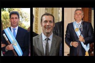 También asumieron los gobernadores de San Juan, Jujuy y Neuquén