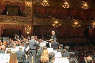 """""""Los santafesinos pueden estar muy orgullosos de su orquesta"""""""