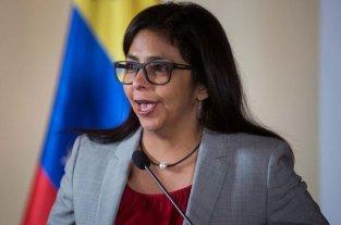 La vicepresidenta de Venezuela se burló de Macri