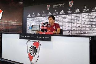 Gallardo confirmó su continuidad en River