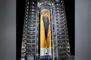 La NASA construyó el cohete más grande del mundo y luego lo hizo explotar