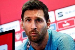 """""""Hay que aprender de los errores del pasado"""", dijo Messi en relación a la Champions League"""