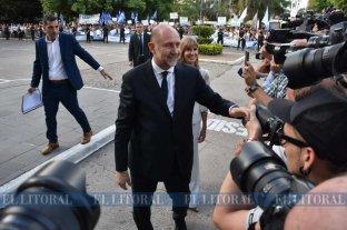 Todas las fotos de la asunción de Omar Perotti