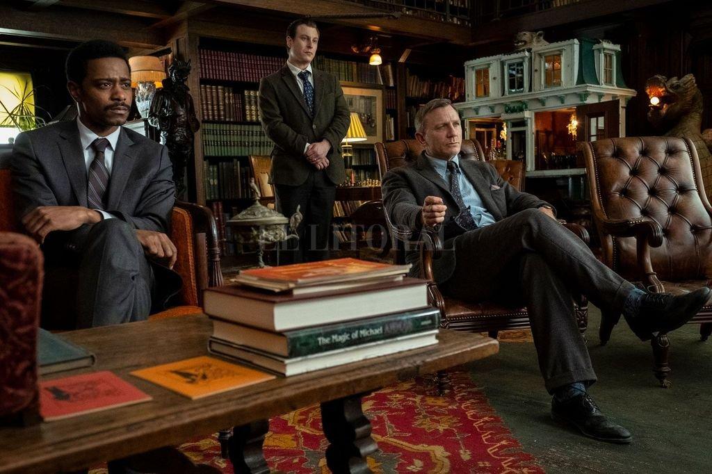 """""""Entre navajas y secretos"""", con Daniel Craig.  <strong>Foto:</strong> Lionsgate"""