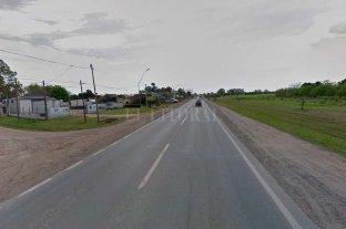 Chocaron dos motos en la Ruta 11: tres personas lesionadas - La zona donde se produjo el hecho
