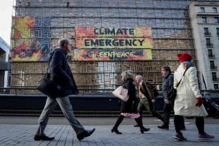 "Greenpeace advierte sobre la ""emergencia climática"" ante la cumbre de la UE"