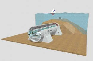 Navegá el túnel subfluvial en 3D -