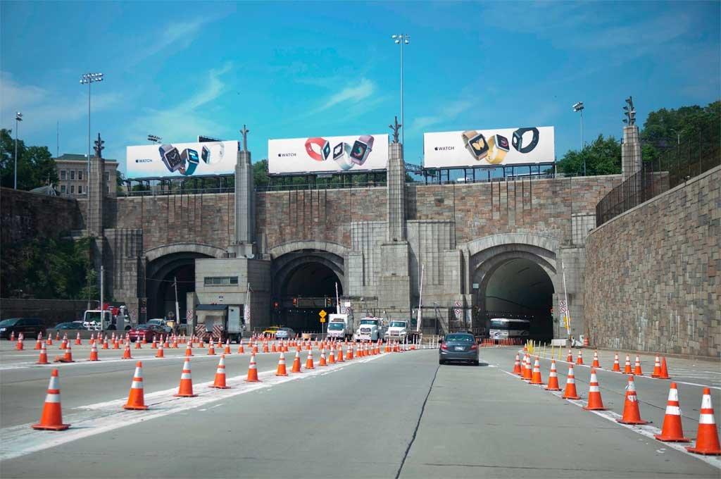 El túnel Lincoln I que conecta Brooklyn con Battery en Nueva York. <strong>Foto:</strong> Gentileza