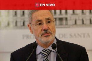 En vivo: el Ministro de Seguridad de Santa Fe anuncia medidas -