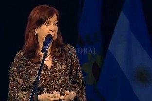 Cristina Fernández instó a la Nación y a las Provincias a rediscutir la coparticipación -  -