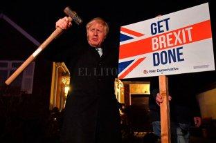 Boris Johnson logró la mayoría absoluta