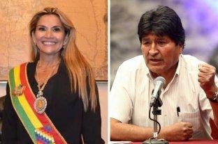 Evo Morales criticó a Áñez