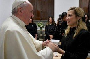 Fabiola Yáñez se reunió con el papa Francisco  -  -