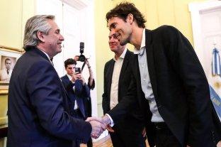 Alberto Fernández recibió al vicepresidente de Google