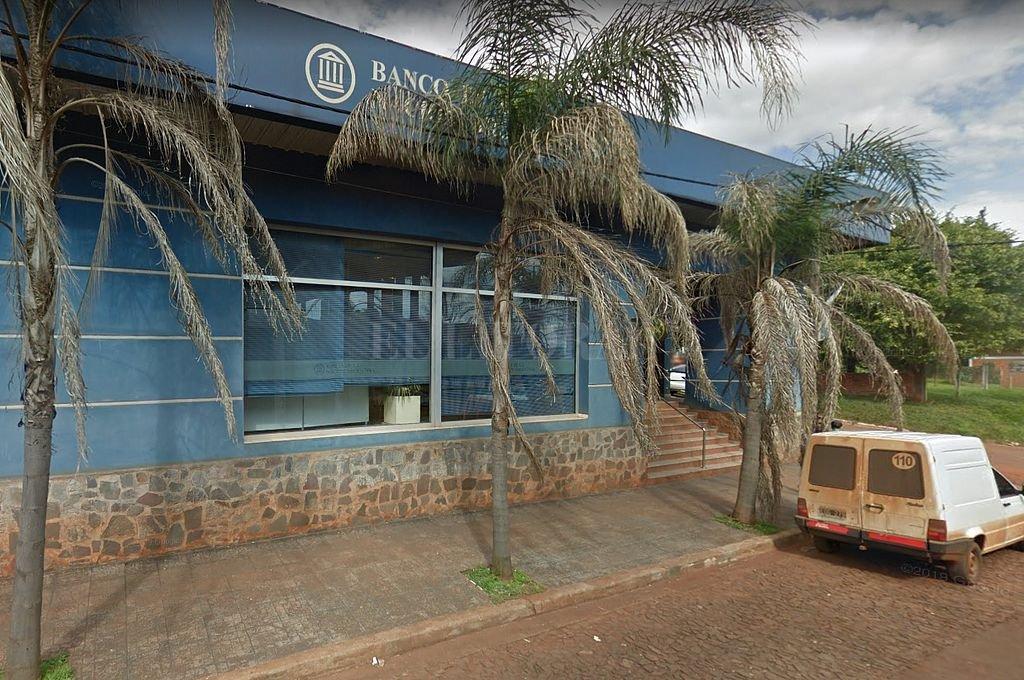 Banco Nación de San Vicente, Misiones. Crédito: Captura digital - Google Maps Streetview