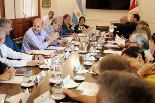 Primera reunión de gabinete