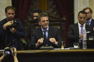 Massa dispuso que haya paridad de género en las presidencias de las comisiones en Diputados -  -