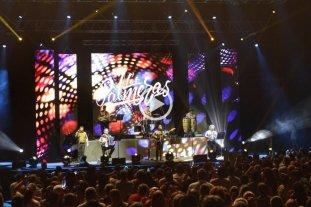 """Video: Los Palmeras con su hit """"Soy Sabalero"""" hicieron vibrar al Luna Park"""