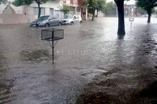 Más de 100 mm de agua caída en Santa Fe