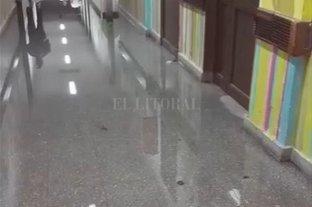 El vocero de Gobierno se refirió a las filtraciones en el hospital Orlando Alassia -  -