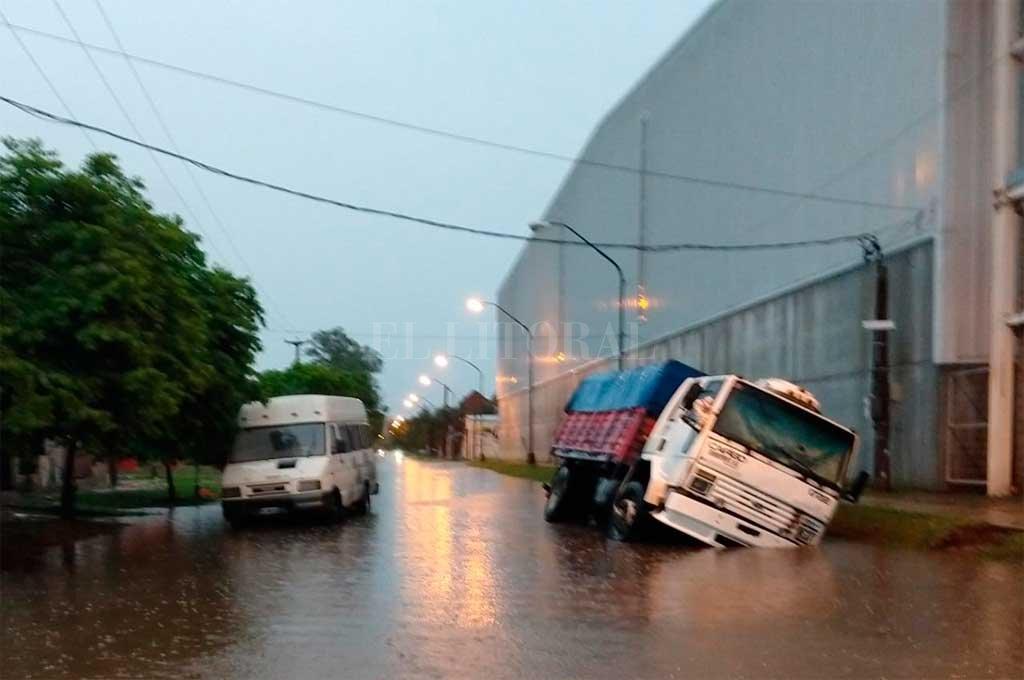 La zona de Regimiento 12 y Facundo Zuviría <strong>Foto:</strong> Periodismo Ciudadano / WhatsApp
