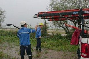 Tormenta en Santa Fe: la EPE trabaja para restablecer el servicio   -  -