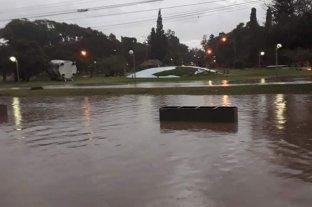 Esperanza fue otra de las ciudades complicadas por el temporal  -