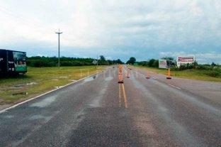Cortaron el tránsito en la Ruta Provincial 1 -  -