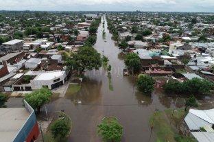 Desde el drone de El Litoral: las zonas anegadas de la ciudad