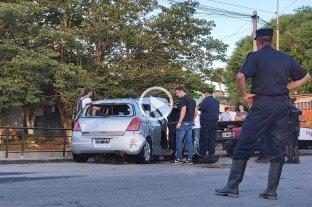 Búsqueda de Fiorella Furlán: retiraron el auto del arroyo -
