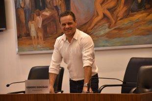 """""""En la ciudad hay desafíos sociales muy graves"""" - Al frente. González comandará las sesiones del Concejo durante 2020. -"""