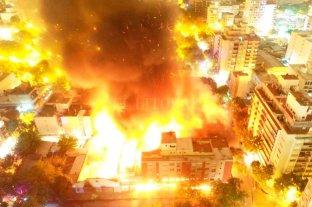 Más de 100 vecinos evacuados tras un incendio en Mar del Plata