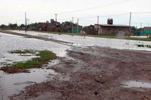 Recreo sin evacuados y con agua en zonas rurales