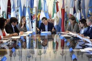 Arroyo presentó ante las provincias política urgentes y de mediano plazo