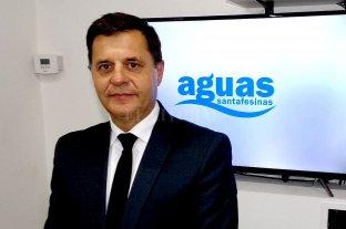 Hugo Morzán es el nuevo presidente de Aguas Santafesinas