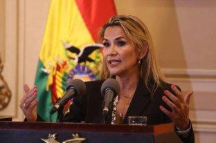 Bolivia: la presidenta interina Jeanine Añez tiene coronavirus -  La autoproclamada presidenta Jeanine Añez -