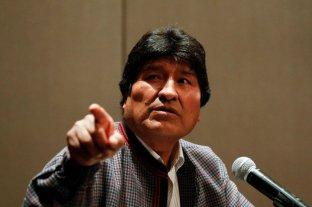 Inhabilitaron la candidatura a senador de Evo Morales