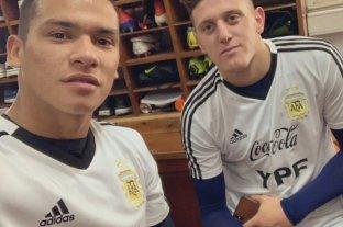 Gaich y Herrera ya entrenan con la Selección Sub 23
