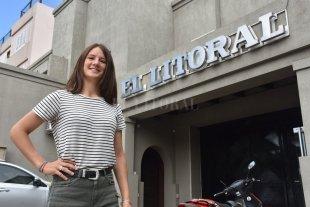 Sofía Chemes en la elite del fútbol argentino